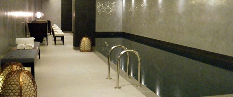 Lancasters, hyde park gets a bisazza mosaic tiled steam room