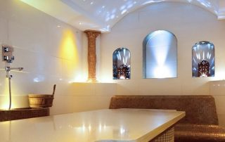 Bespoke moroccan hammam spa installed shortflatt tower, newcastle