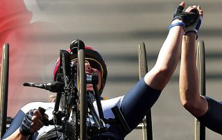 Leisurequip Sponsor Rachel Morris, Paralympic Gold Medallist for the Next Games