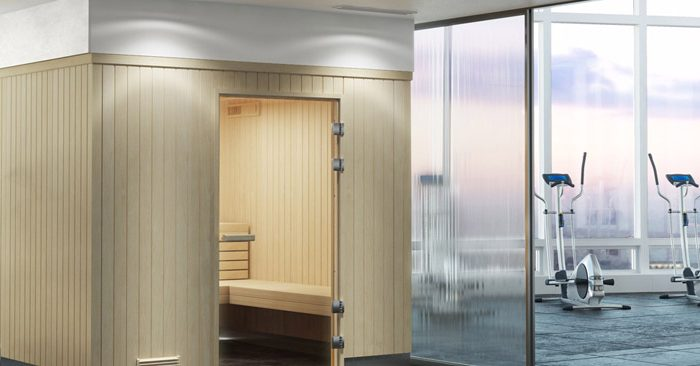 Pre-fabricated Commercial Sauna Kits Come Ready to Install