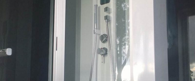 Luxury Steam Shower Installed in Huntick Farm Holiday Park, Poole, Dorset