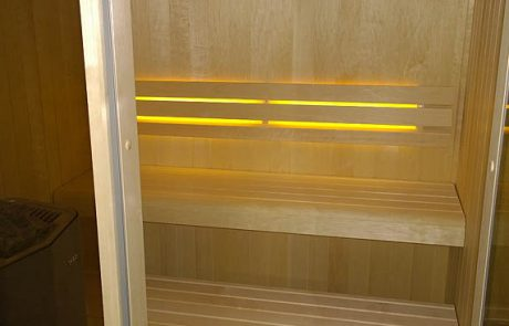 Bespoke Aspen Sauna Constructed In Award Winning Contemporary Home