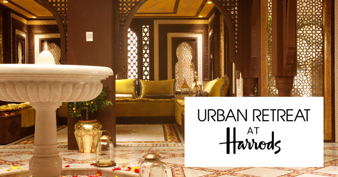 Moroccan Hammam Spa at Urban Retreat at Harrods, London