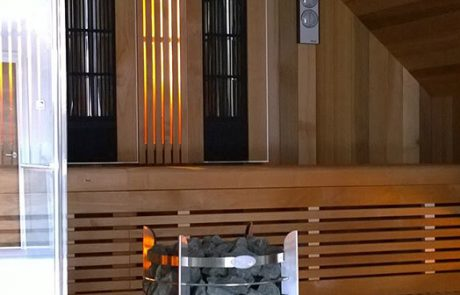 Custom Sauna Installation for Clients Luxury Home in Milton Keynes
