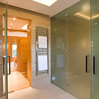 Steam Room Glass