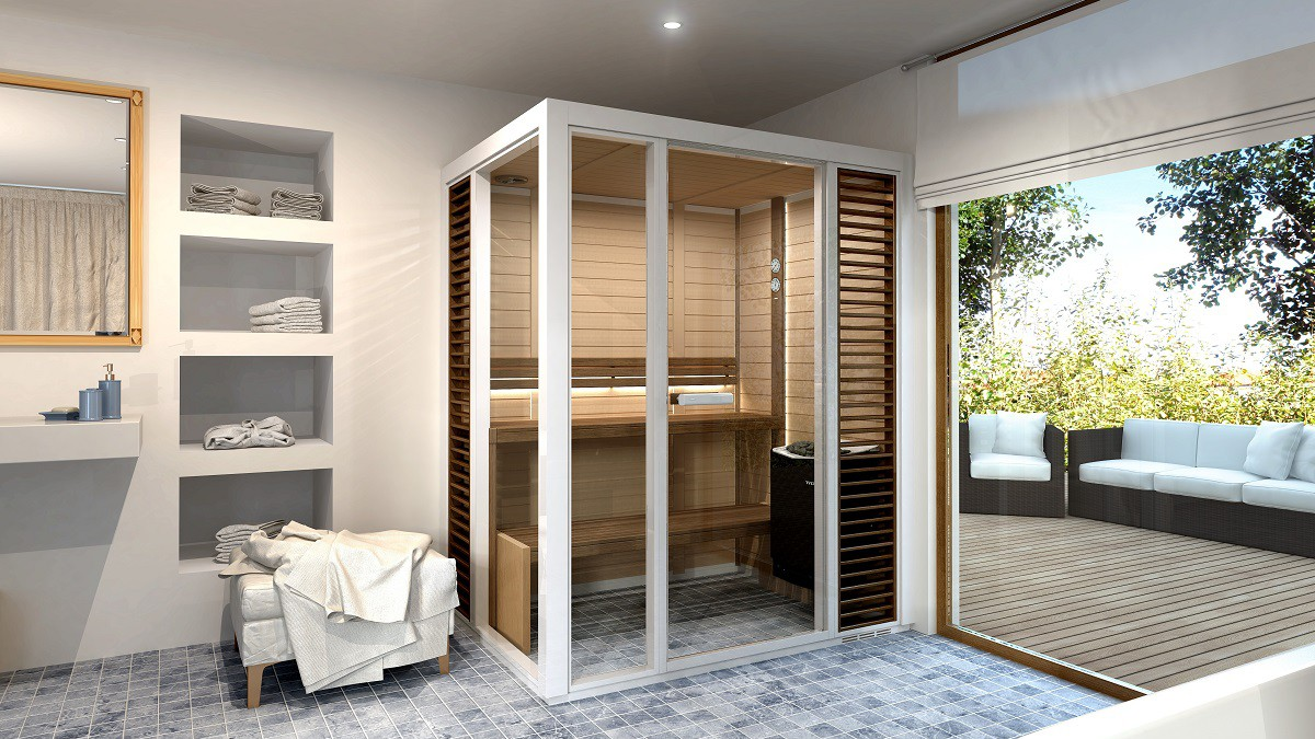Our 2 Most Popular Tylo Saunas with our Domestic Customers in the UK
