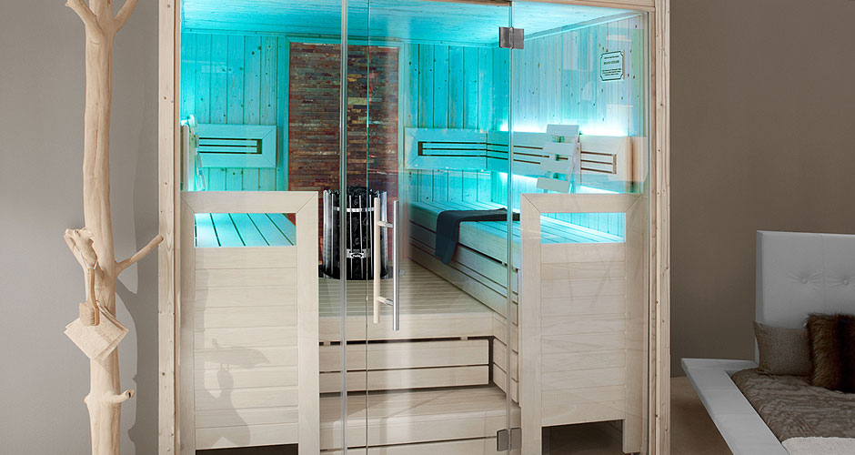The Ambiente is one of our best selling Helo saunas