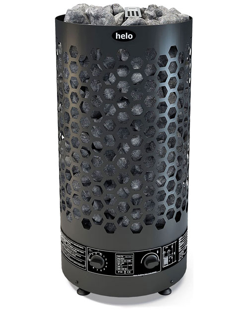 Helo Ringo Black Family Sauna Heater