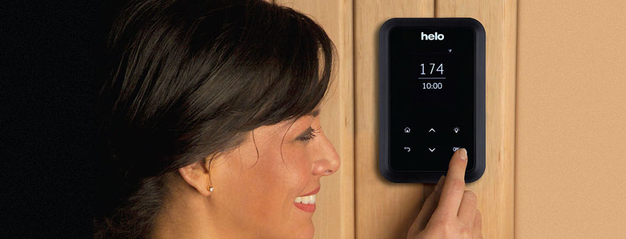 Helo T1 sauna steam control panel