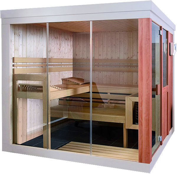 Helo Vogue Small Home Sauna Kit