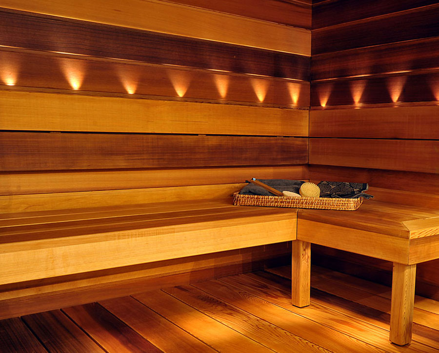 Western Red Cedar sauna panels