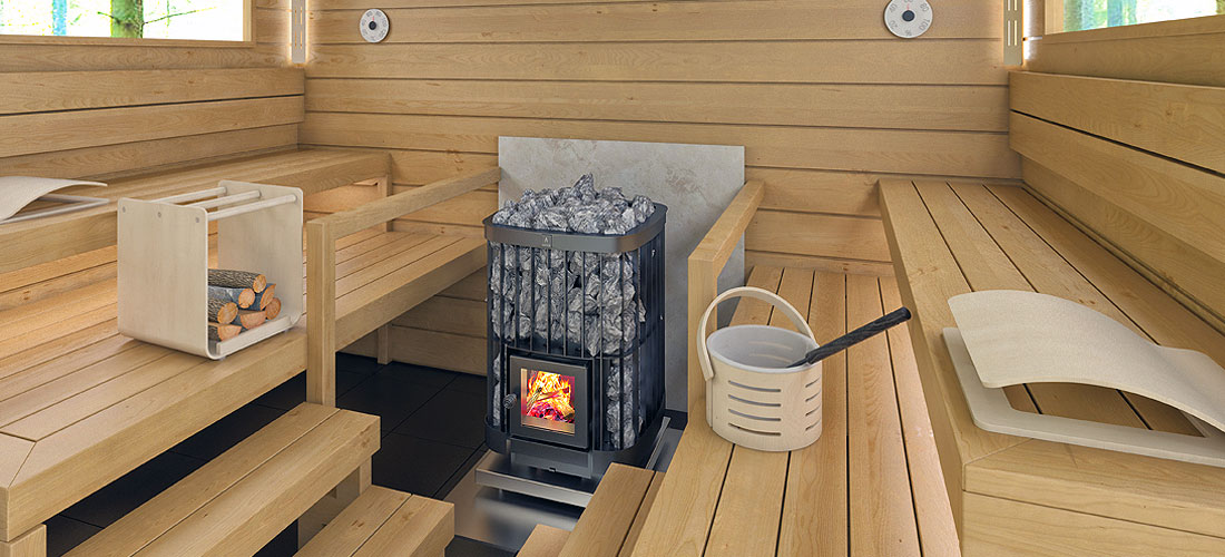 Kastor Saga commercial wood burning sauna heater