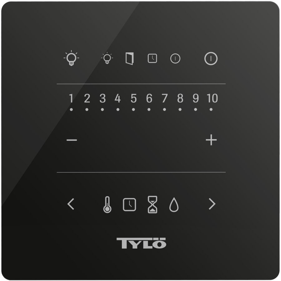 Tylo Pure sauna steam control panel