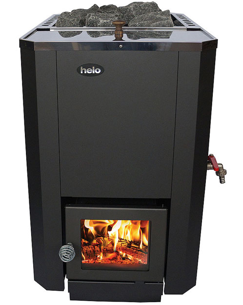 Helo R20 wood fired sauna stove