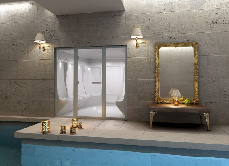 Here's 2 of the Best Indoor Steam Rooms for Home use