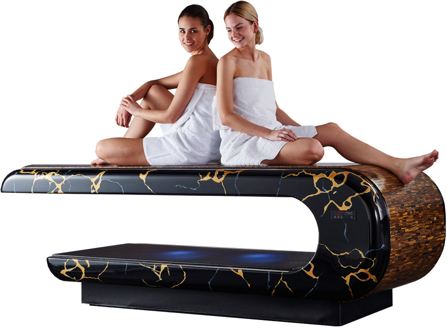 Luxury Infrared Heated Marble Spa Treatment Table