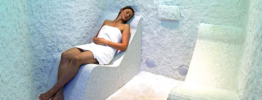 Salt room spas