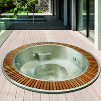 Stainless steel spas