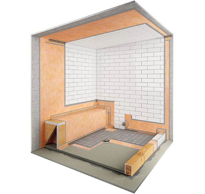 Getting your steam room installed