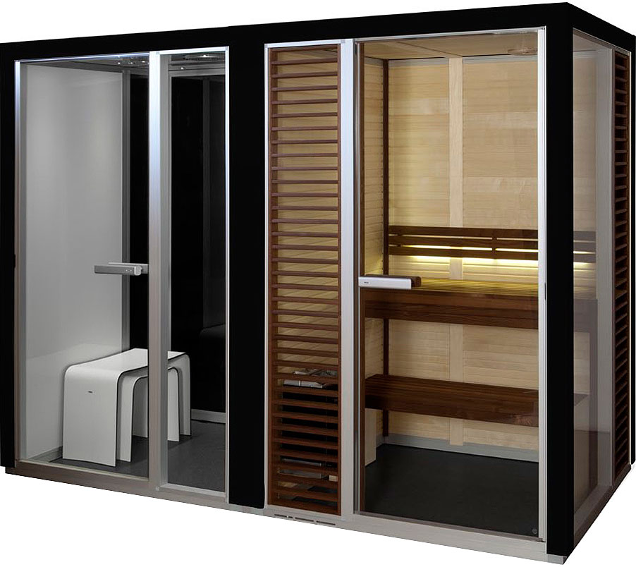 Tylo Impression Twin Steam Sauna Combo