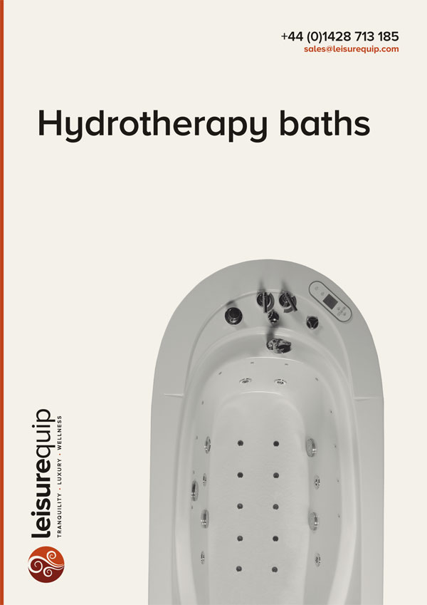 NeoQi commercial acrylic hydrotherapy baths.
