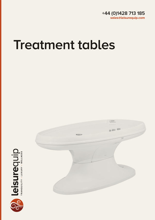 NeoQi acrylic commercial spa massage treatment tables.