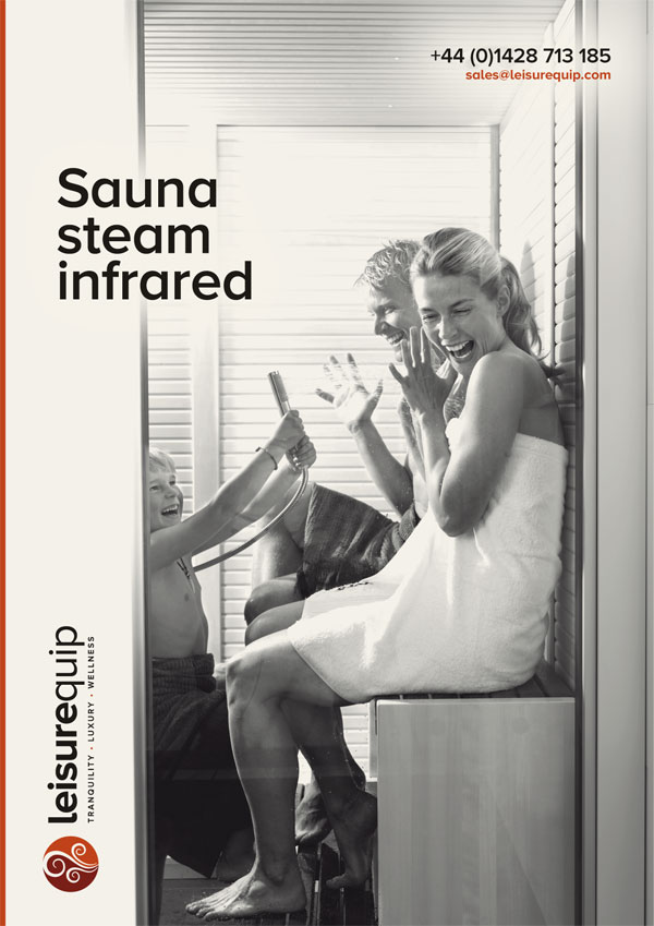 Complete TylöHelo sauna, steam, infrared product range.
