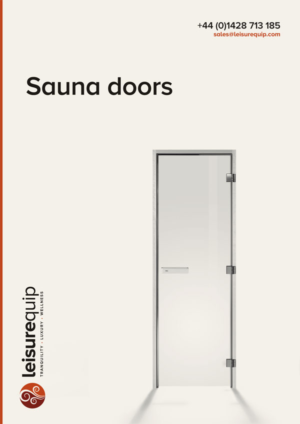 TylöHelo home and commercial sauna doors