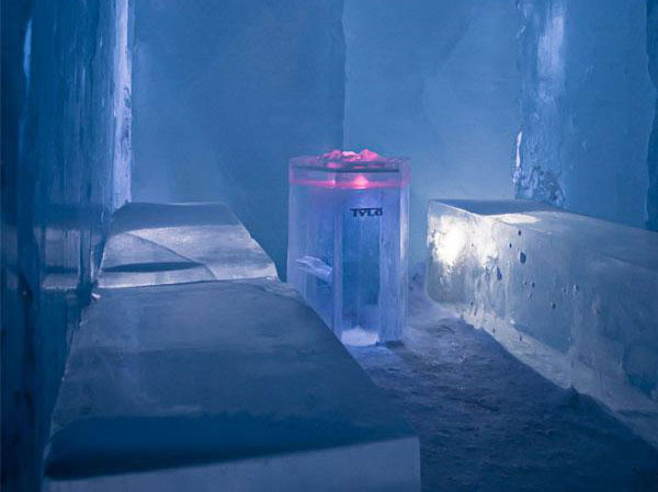Bespoke Cold Rooms Custom Ice Fountains Snow Room Spas