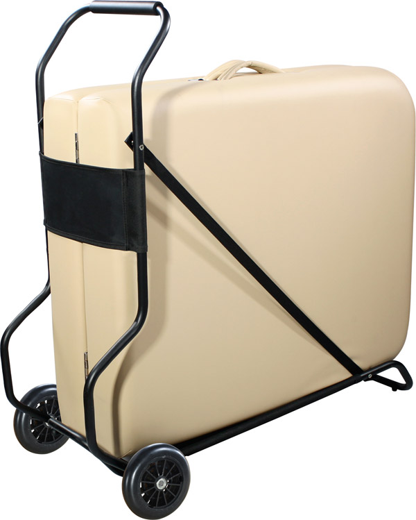 Affinity wheeled massage table trolley