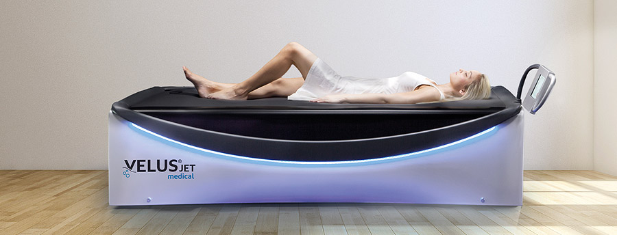 VelusJet dry water massage