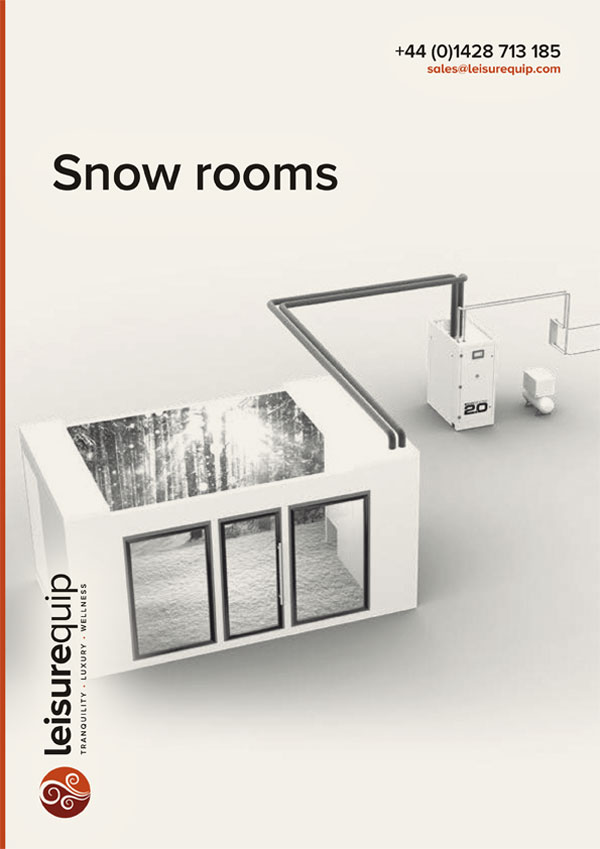 Snow rooms and snow caves 2019 brochure.