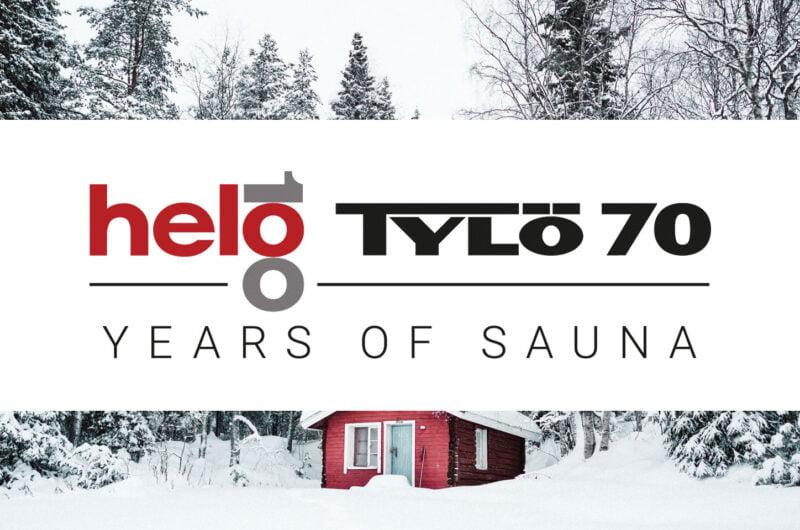 TyloHelo Announce Jubilee Sauna Room to Celebrate 100 & 70 Year Anniversary